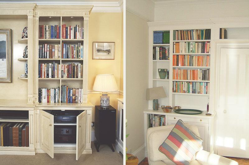 living room av storage