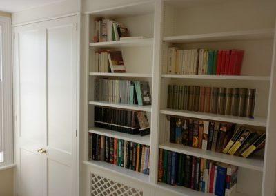 Study - bespoke bookcase