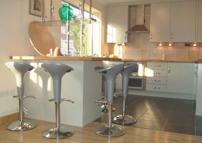 Fitted kitchen - built in cupboards