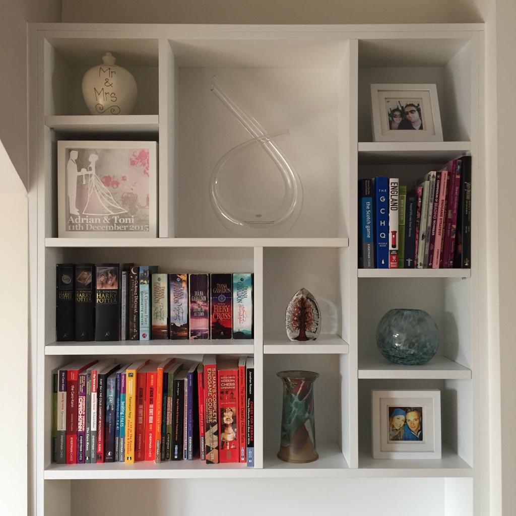 Alcove Designs contemporary box shelving