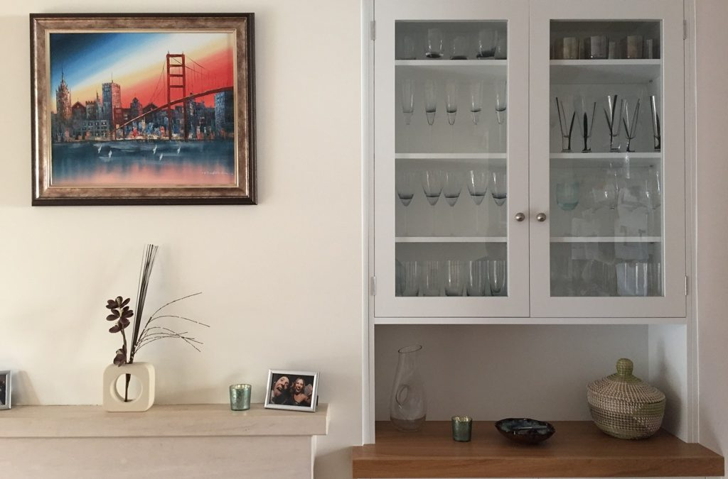 Project Putney: Bespoke alcove cupboards & shelves