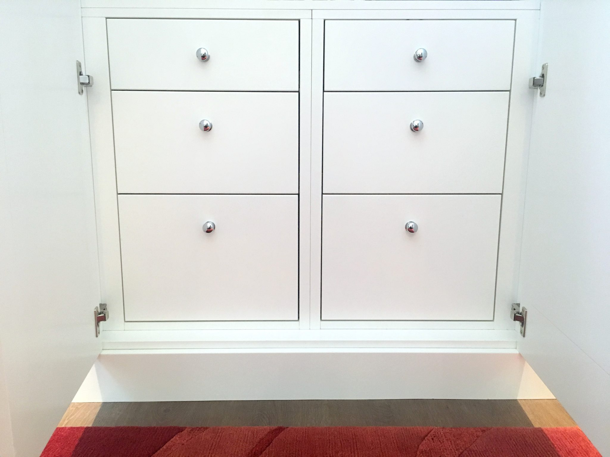 Bespoke Wardrobe Interior Drawers